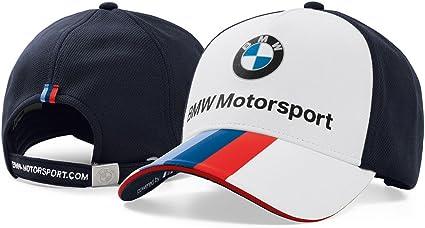 Gorra unisex BMW M Motorsport original: Amazon.es: Coche y moto