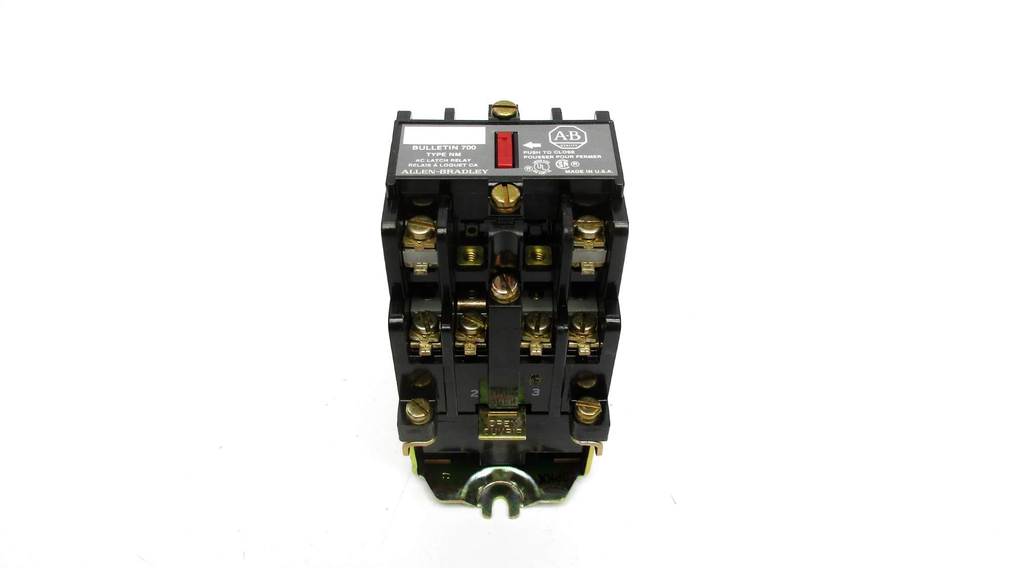 Allen Bradley 700-NM400A1 SER. E 120/60 110/50 NSNP by INDUSTRIAL MRO