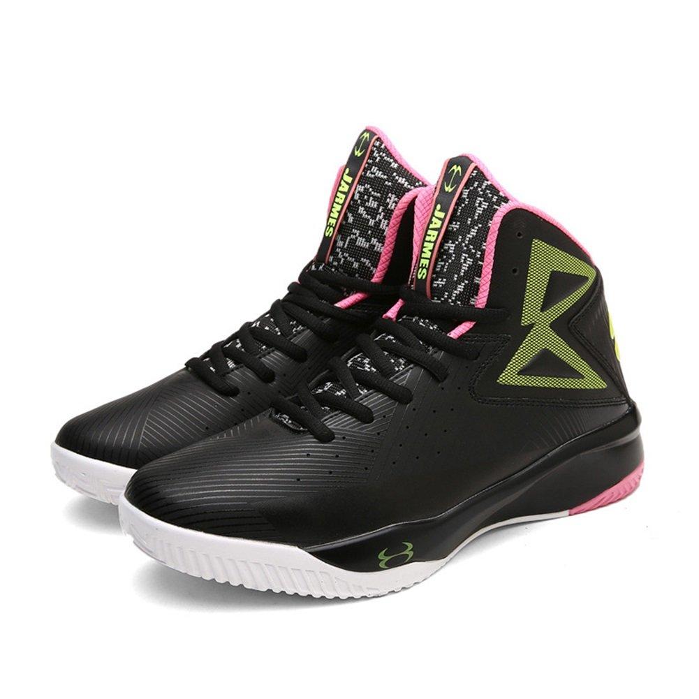 Zapatos de los Hombres PU Summer Fall Comfort Athletic Shoes Zapatos de Baloncesto Para Athletic Outdoor High-Top Sneakers de Gran Tamaño 43 EU|D