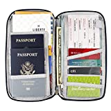 Travel document organizer & Travel wallet & Passport holder