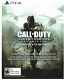 PS4 Call of Duty Modern Warfare Remastered Download Voucher - Infinite Warfare Disc REQUIRED