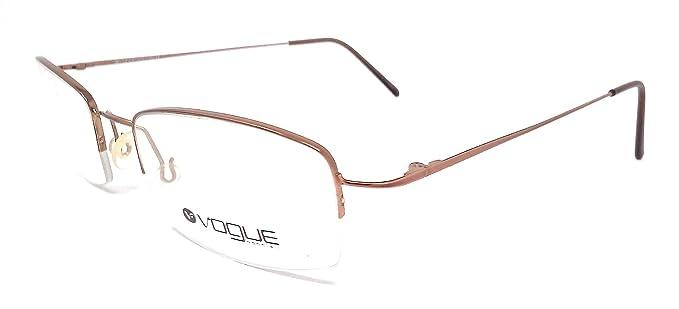 ea42f3e69a Vogue - Monture de lunettes - Femme Rose Or rose 50: Amazon.fr ...