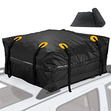 Amazon.com: Bolsa para el techo del coche (18 pies cúbicos ...