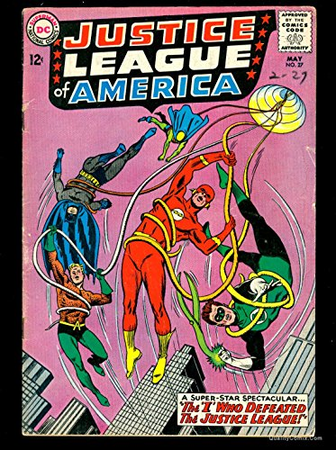 Justice League Of America #27 VG 4.0 Tongie Farm Collection Pedigree