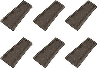 product image for Suncast Home Splash Rain Gutter Drain Block Replacement Guard, Brown (6 Pack)