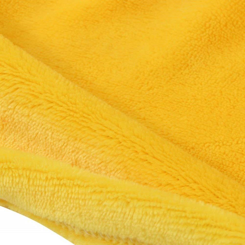 Hotmall Serviette /à Capuche B/éb/é Couverture de Flanelle Douce et Chaude Peignoir Animal Dessin Anim/é pour Enfant Bambin