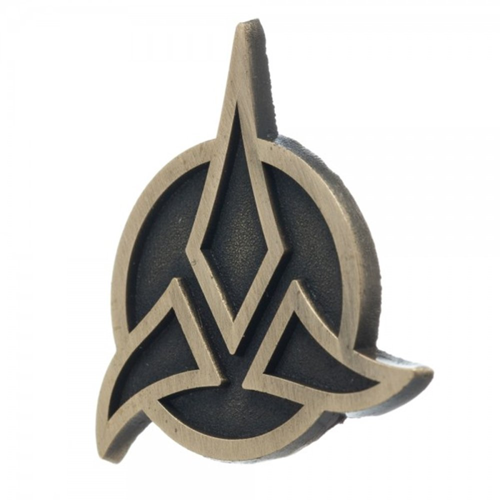 Star Trek Klingon Mini Lapel Pin Badge