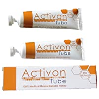 (Twin Pack) Activon Tube Manuka Honey 25g - Pack of 2 Tubes - 100% Medical Grade...