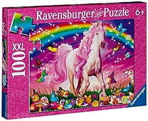 Ravensburger 13927 - Pferdetraum - 100 Teile XXL Glitter Puzzle