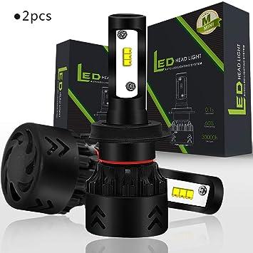 Kit De Bombillas De Faros De Coche, Mini8 LED Faros Kit Bombillas Philips Chip Alto