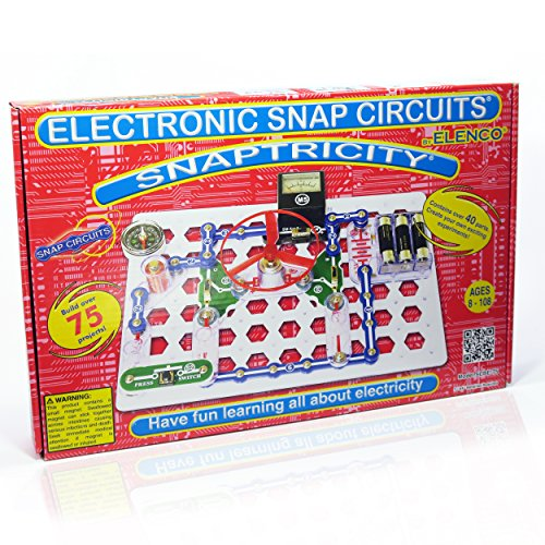 Snap Circuits Snaptricity Electronics Discovery (Electromagnet Science Kit)