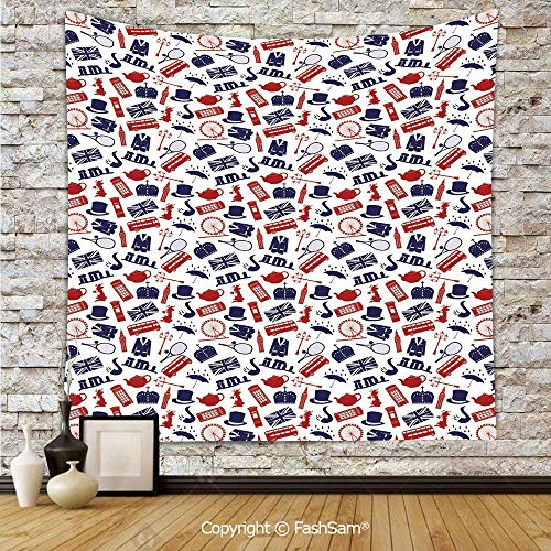 FashSam Polyester Tapestry Wall United Kingdom Country Themed
