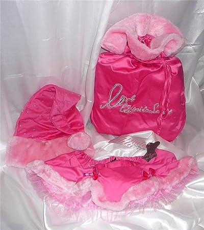 Victoriau0027s Secret Santa Baby Set~ Sexy Little Things Pink Skirt, Bag U0026 Hat