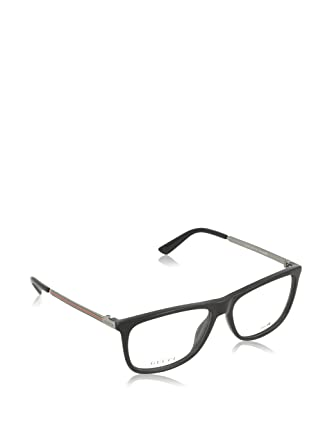Amazon.com: Optical frame Gucci Optyl Black - Silver (GG 1137 CVS ...