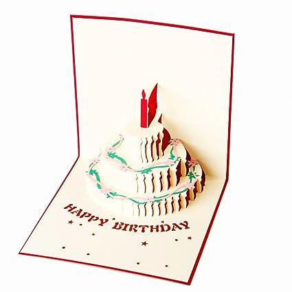 Tenn Well - 3d tarjeta de felicitación de cumpleaños, hecho ...
