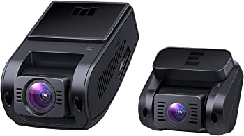 Aukey 1080p Front and Rear Dual Dash Cam with Night Vision