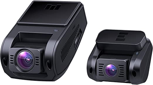 Amazon.com: AUKEY Dual Dash Cam HD 1080P Front and Rear Camera Car Camera Supercapacitor 6-Lane 170 Degrees Wide-Angle Lens Dashcam with Night Vision, Loop, G-Sensor, Motion Detection and Dual-Port Car Charger