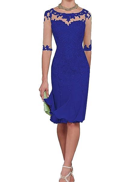 Amazon.com: PearlBridal - Vestido de fiesta formal de gasa ...