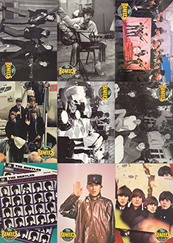 THE BEATLES COLLECTION 1993 RIVER GROUP COMPLETE BASE CARD SET OF 220 MU