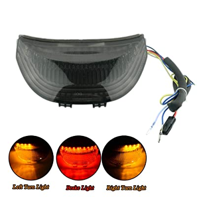 LED Tail Light Smoke Integrated Turn Signals For Honda CBR600RR 2003-2006 CBR1000RR 2004-2007: Automotive