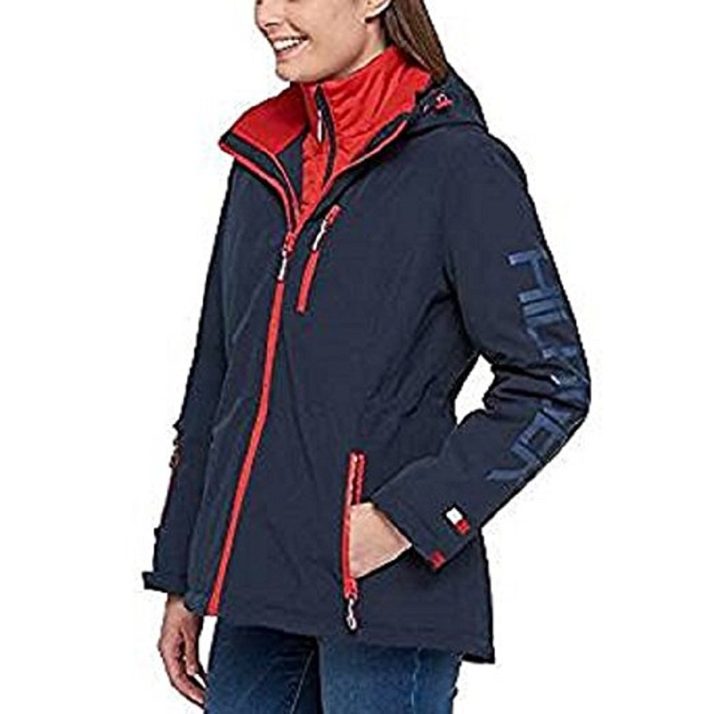 a0e3bf845 Tommy Hilfiger Ladies 3-In-1 Systems Jacket (Navy
