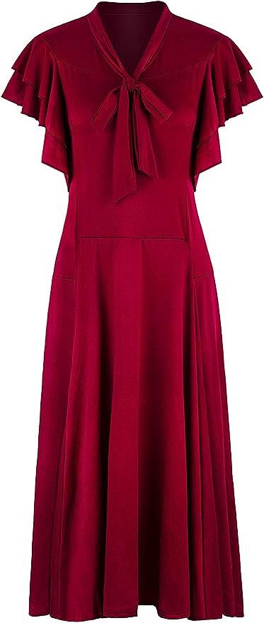 VIJIV Women's Flapper Dress