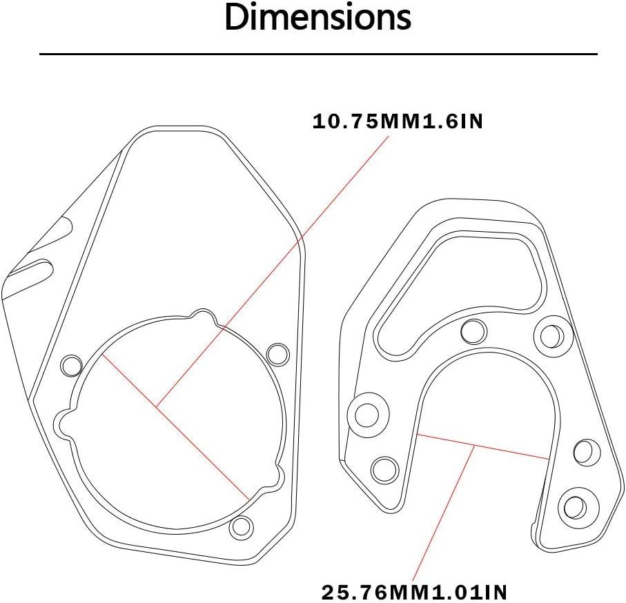 Estensione cavalletto laterale Ingrandisci Per Duke 125 200 250 390 690// RC 125 200 250 390//KTM 950 990 Adventure//KTM 690 Enduro R//KTM Husqvarna 701 Enduro Supermoto//KTM 1190 ADV 2013 OR+OR