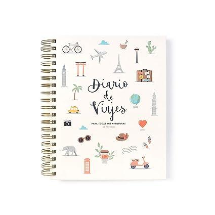 Tapooki Diario de Viajes para todas tus aventuras: Amazon.es ...