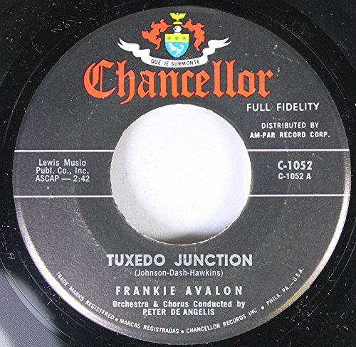 Frankie Avalon 45 RPM Tuxedo Junction / Where Are You