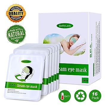 Amazon.com: Máscara de ojos de vapor para ojos secos ...