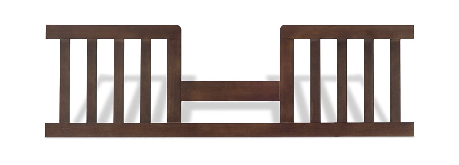 Child Craft Toddler Guard Rail for Bradford Crib, Rich Walnut Foundations F09514.47