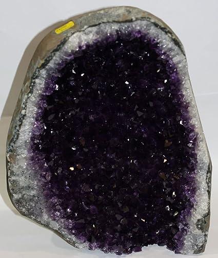 Precioso Luxus – Piedra amatista de Uruguay extragroßes, natural geoden de contera. Más de