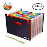 Expanding File Folder/24 Pockets A4 Accordion File