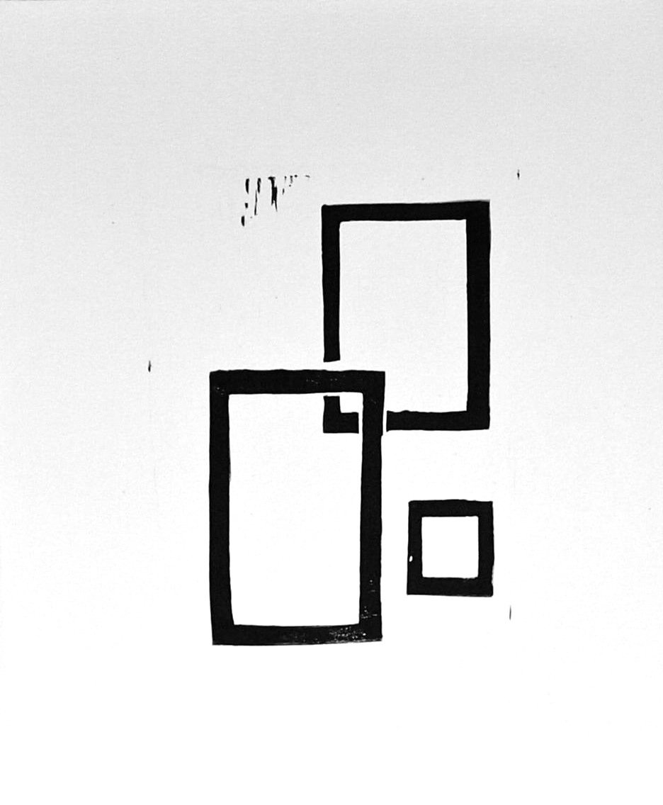 Black and White Rectangles by