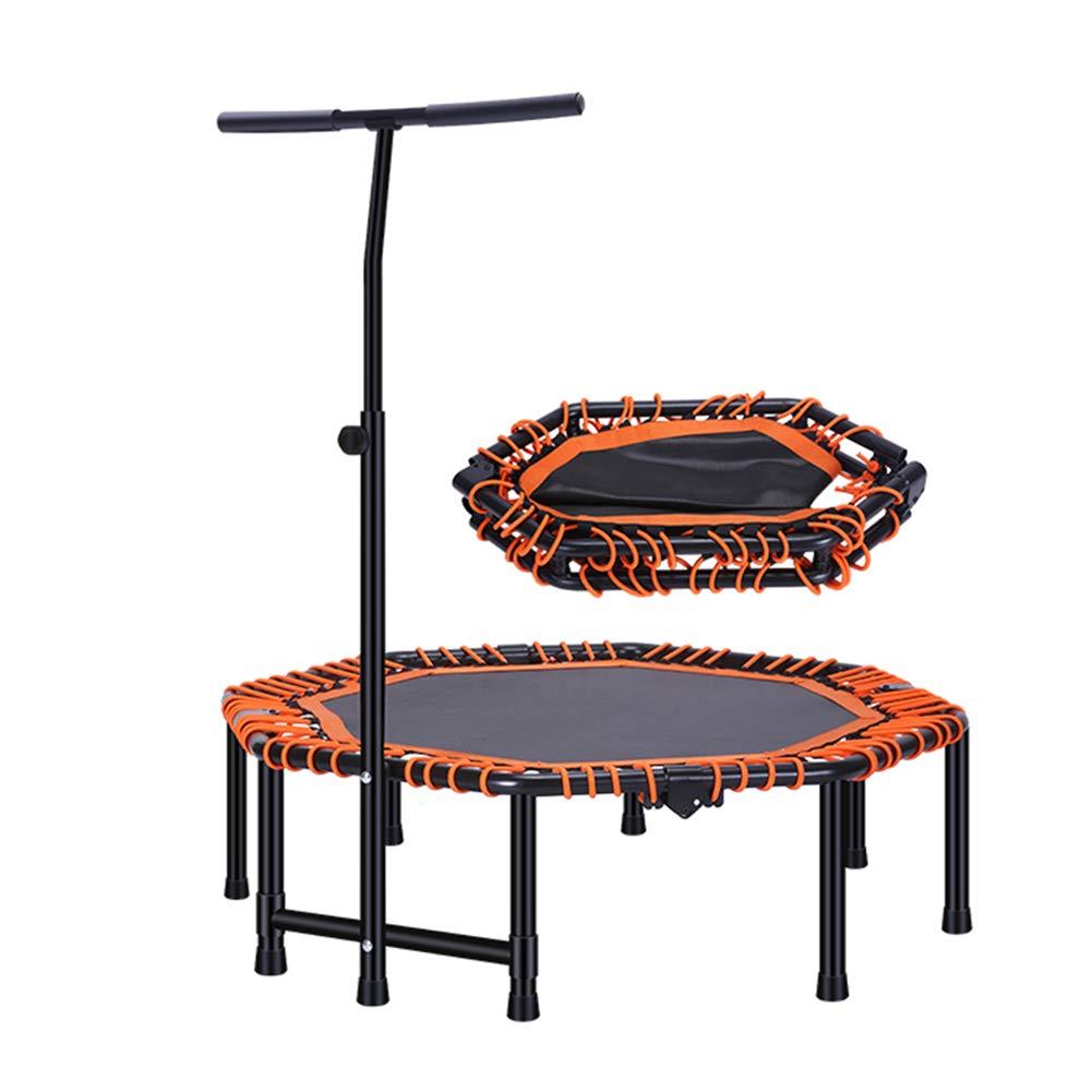 Faltbare Trampolin 48 Zoll Portable Durable Construction Safe für Kinder mit Gepolsterten Rahmen Cover und Griff