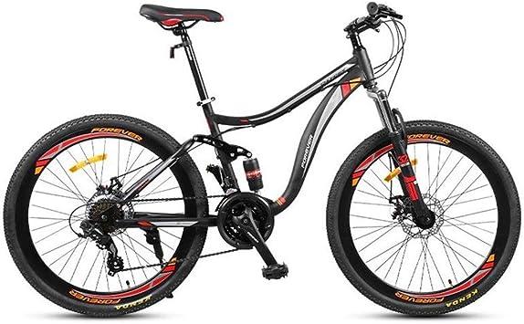 JLASD Bicicleta Montaña Bicicleta De Montaña, 26 Pulgadas Marco De ...