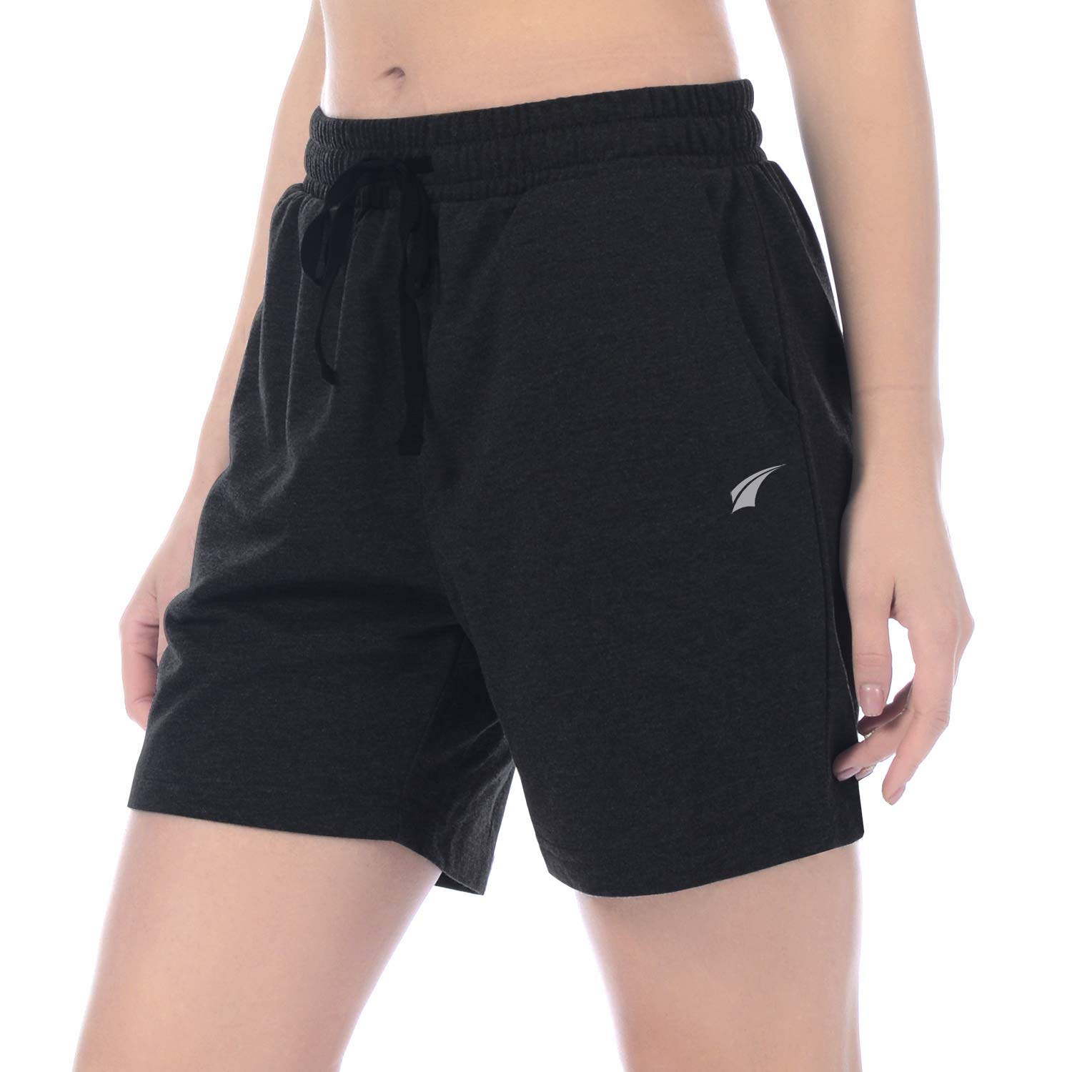Amazon.com   EZRUN Women s Active Workout Jogger Shorts Lounge Activewear  Yoga Shorts with Pockets   Clothing c0a609535310