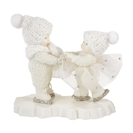 Department 56 Snowbabies Come Skate with Me Figurine, 4.72 inch