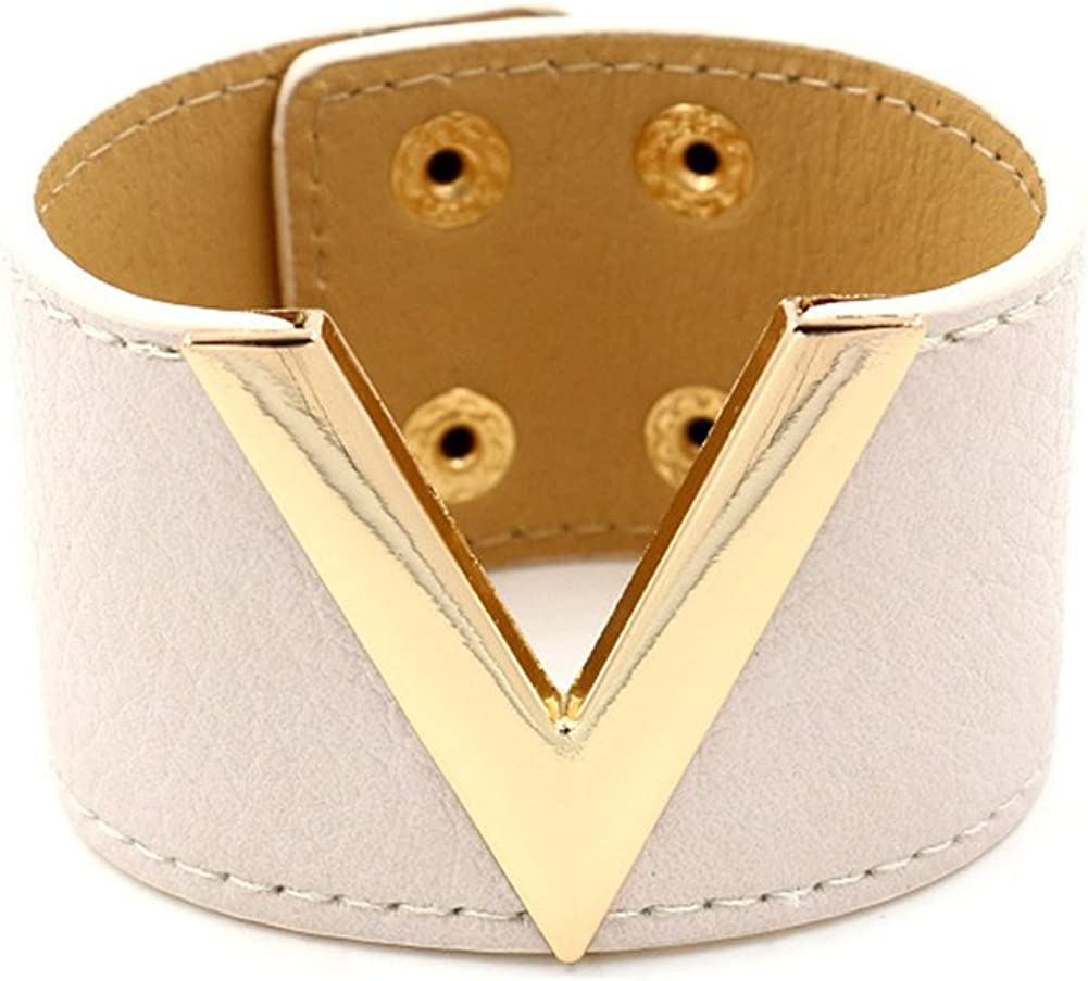 SKYYU Leather Bracelet...