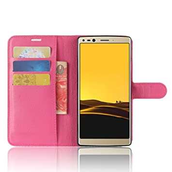 Funda® Capirotazo Billetera Funda para Doogee Mix 2 (Rosa ...