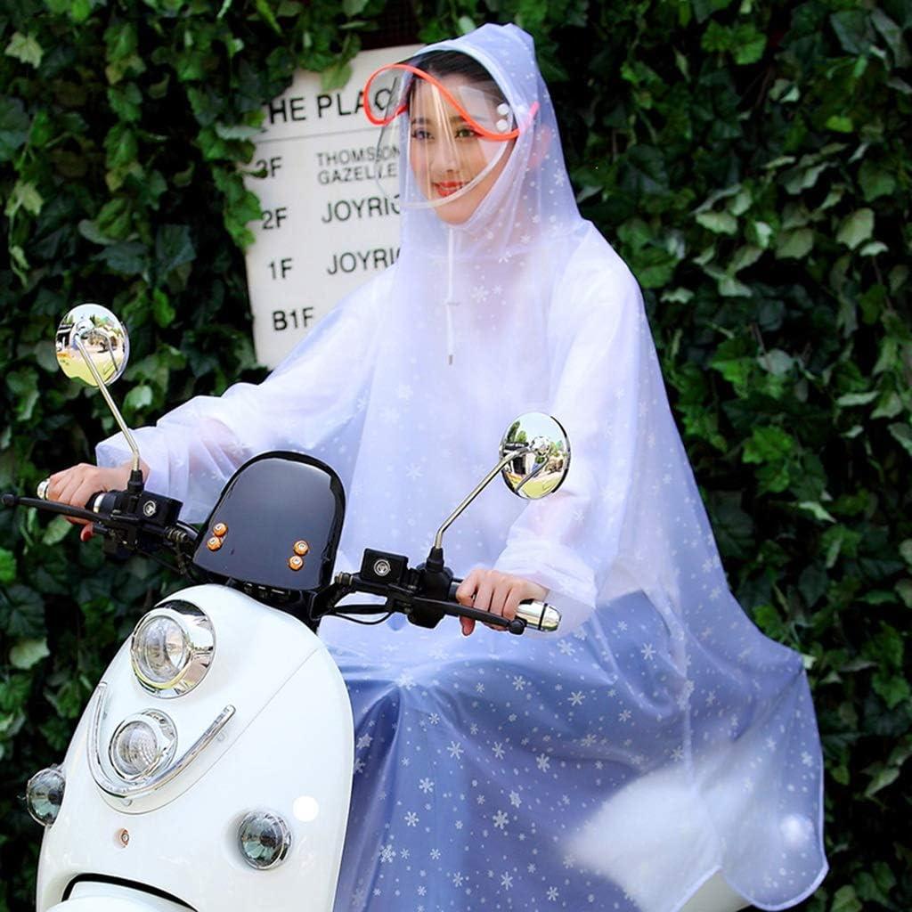 Chubasquero Transparente Vehículo eléctrico Chubasquero Bicicleta ...