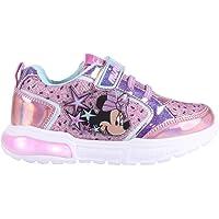 CERDÁ LIFE'S LITTLE MOMENTS Zapatillas con Luces para Niñas de Minnie Mouse con Licencia Oficial Disney, Deportivas