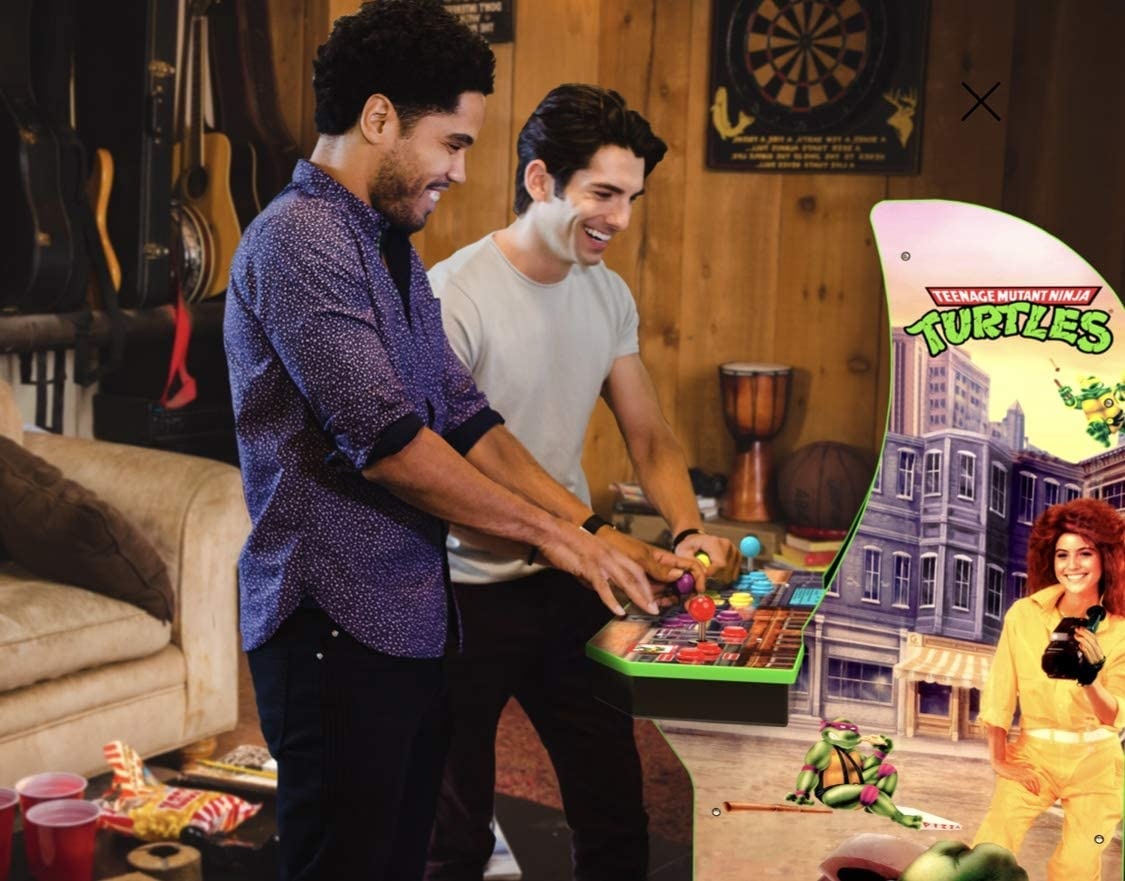 Amazon.com: Teenage Mutant Ninja Turtles Arcade Máquina con ...