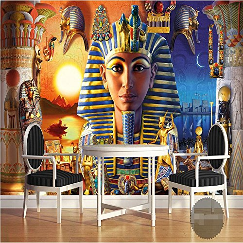 350cmX245cm wallpaper 3d home decoration picture background modern Egyptian culture ancient civilized art restaurant mural panel,350cmX245cm by ZLJTYN