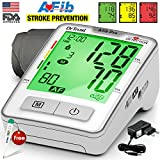 Dr. Trust Atrial Fibrillation Automatic Digital Blood Pressure Monitor Achine (Includes Adapter, Carry Bag, Batteries, Thermometer)