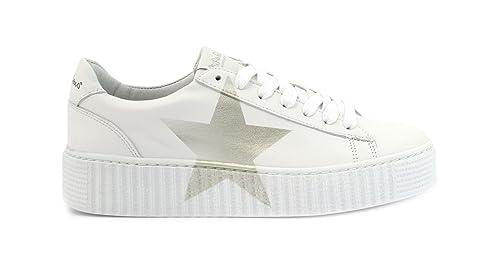 Sneaker Bianco Cuore Platino - 36 Nira Rubens lByx4o