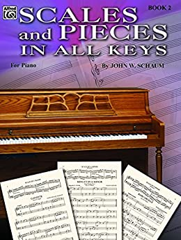 Book of scales piano