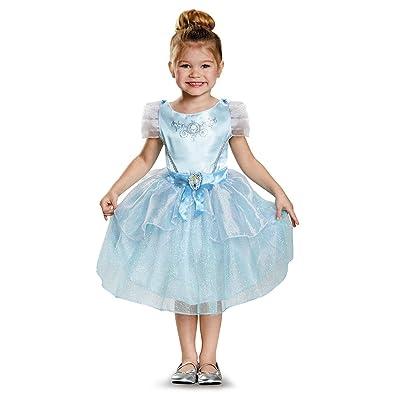 Disney Princess Cinderella Classic Costume for Girls: Toys & Games