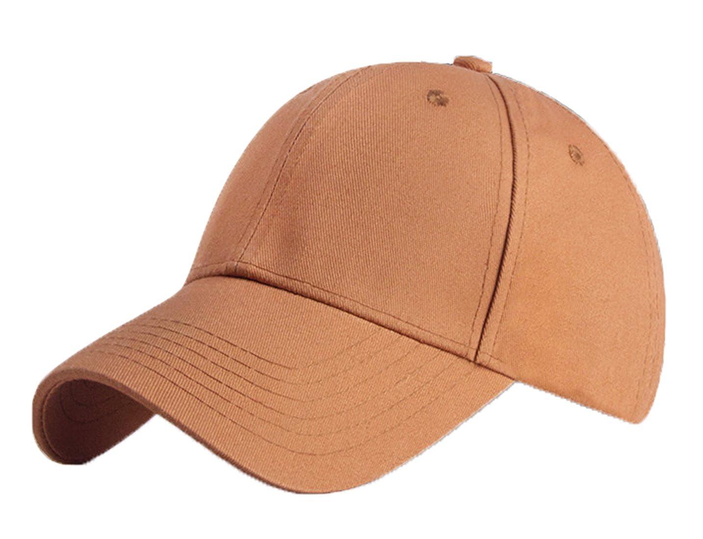 KeepSa Baumwolle Baseball Cap, Basecap Unisex Baseball Kappen, Baseball  Mützen für Draussen, Sport oder auf Reisen - Reine Farbe Baseboard  Baseballkappe ... b2e711072b