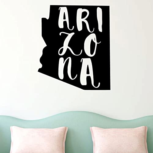 Amazon Com Arizona Wall Decal State Silhouette Vinyl Art For